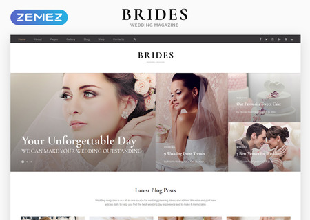Wedding Magazine Multipurpose HTML