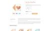 Plantilla Web para Sitio de Tienda de Artículos para Boda Captura de Pantalla Grande