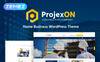 """Projexon - Bright Construction Complany"" thème WordPress adaptatif New Screenshots BIG"