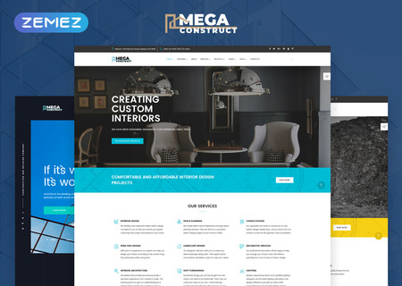 Construction Company Multipage