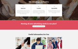 Positive - Advertising Agency Multipage HTML5 Template Web №68082