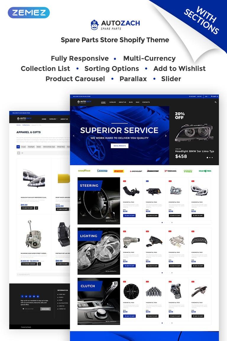 Shopify Theme #68147 für Autotuning