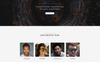"Landing Page Template namens ""Intro - Dynamite Digital Agency HTML5"" Großer Screenshot"
