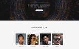 "Landing Page Template namens ""Intro - Dynamite Digital Agency HTML5"""