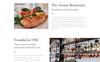 Avenue - Restaurant Responsive Multipage HTML Template Web №68272 Screenshot Grade