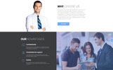 "HTML шаблон ""proBusiness - Elegant Audit Company Multipage HTML"""