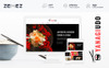 YanagiUdo - Japanese Restaurant Magento Theme Big Screenshot