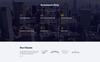 """Investment Smart - Solid Investment Agency Multipage HTML"" modèle web adaptatif Grande capture d'écran"