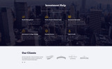 """Investment Smart - Solid Investment Agency Multipage HTML"" modèle web adaptatif"