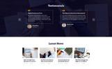 Responsive Danışmanlık  Web Sitesi Şablonu
