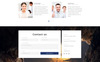 """Clear - Simple Creative Agency HTML with Novi Builder"" Responsive Landingspagina Template Groot  Screenshot"