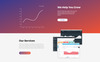 Rocket - Fabulous App Building Agency Compatible with Novi Builder Landing Page Template Big Screenshot