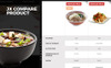 Tema PrestaShop  Flexível para Sites de Restaurante Chinês №68355 Screenshot Grade