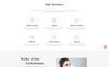 Solari - Beauty Salon HTML5 Website Template Big Screenshot