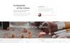 """Responzivní Šablona webových stránek """"Solari - Beauty Salon HTML5"""" Velký screenshot"""