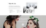 """Responzivní Šablona webových stránek """"Solari - Beauty Salon HTML5"""""""
