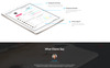 Intense - Startup Company Mobile App with Built-In Novi Builder Landing Page Template Big Screenshot
