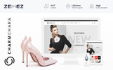 "Magento Theme namens ""CharmChara - Fashion Store"""