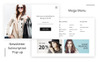 "Magento Theme namens ""CharmChara - Fashion Store"" Großer Screenshot"