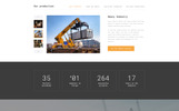 Spectrum - Construction Multipage HTML Template Web №68521