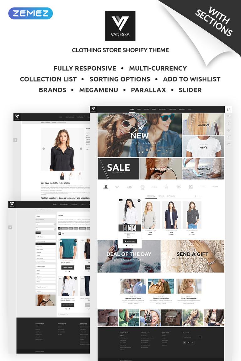 Shopify Theme #68535 für Mode