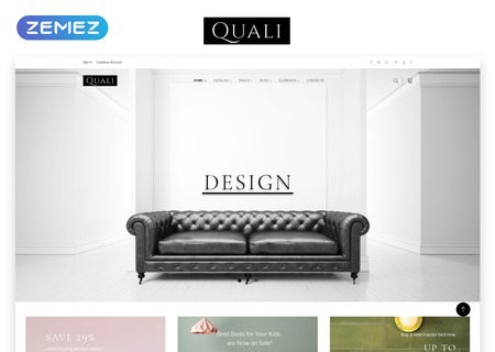 Furniture Multipage Responsive HTML