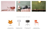 "Website Vorlage namens ""Quali - Furniture Multipage Responsive"""
