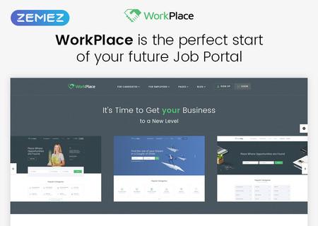 Job Portal Multipage HTML5