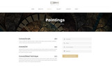 Art Gallery Multipage HTML5 Template Web №68655