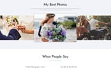 """Moments - Photographer Portfolio Multipurpose"" modèle web adaptatif"