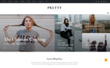 Pretty - Magazine Multipurpose HTML5 Website Template