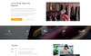 Pretty - Magazine Multipurpose HTML5 Website Template Big Screenshot
