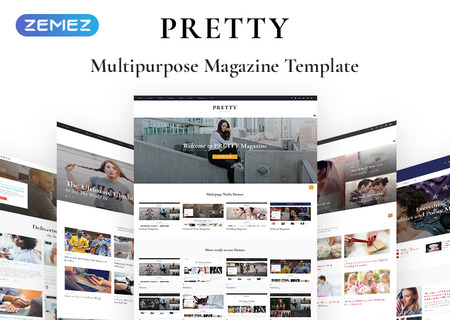 Pretty - Fashion Magazine Multipurpose HTML5