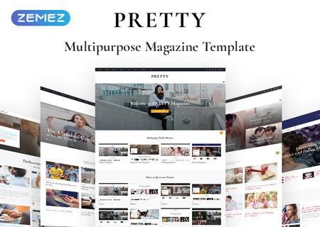 Pretty - Fashion Magazine Multipurpose HTML5