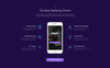 """.Bank - Finance & Banking Multipage Bootstrap 4"" Responsive Website template Groot  Screenshot"