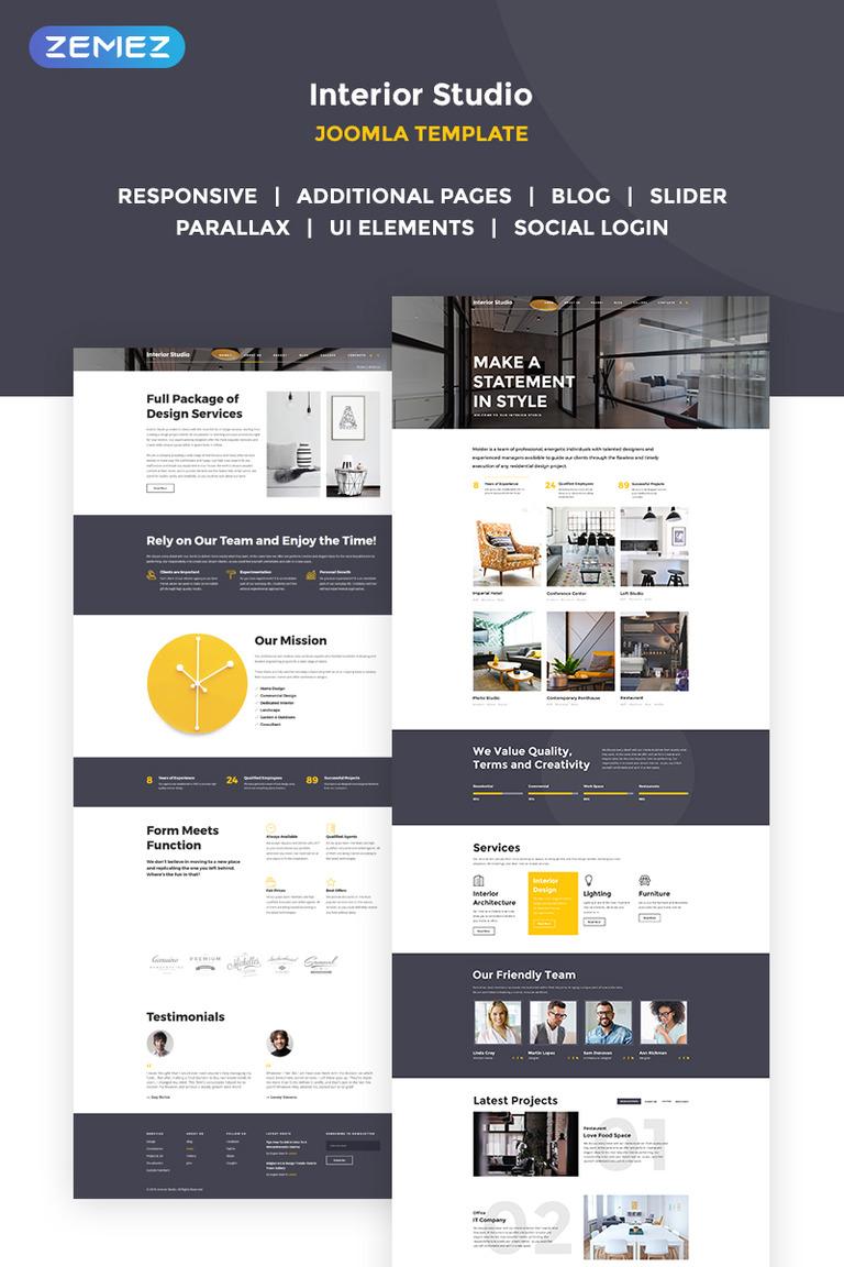 Distinctive Interiors - Interior Design & Construction Agency Joomla ...