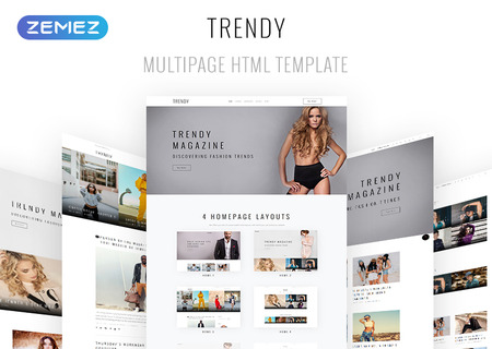 Fashion Magazine Multipurpose HTML5