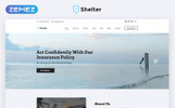 "Modello Siti Web Responsive #68840 ""Shelter - Insurance Agency Multipage HTML5"""