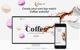 Responsivt Aromacafe - Coffee Shop Elementor WordPress-tema