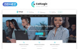 "Template Siti Web Responsive #68953 ""CallLogic - Call Center Multipage HTML5"""