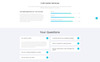 "HTML шаблон ""CallLogic - Call Center Multipage HTML5"" Большой скриншот"