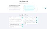 "HTML шаблон ""CallLogic - Call Center Multipage HTML5"""