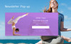 "Template Magento Responsive #68956 ""YPath - AMP Yoga Store"" Screenshot grande"