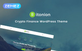 Responsivt Bitonion - Cryptocurrency Elementor WordPress-tema