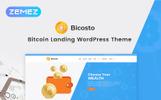 Reszponzív Pénzügyi  WordPress sablon