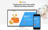 Bicosto - Bitcoin Landing Elementor WordPress Theme