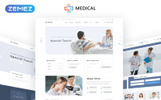 Responsivt Medical  - Private Medical Center Multipage Hemsidemall