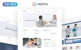 Responsywny szablon strony www Medical  - Private Medical Center Multipage #69084