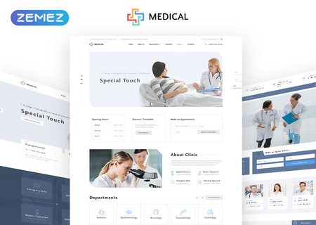 Private Medical Center Multipage HTML5