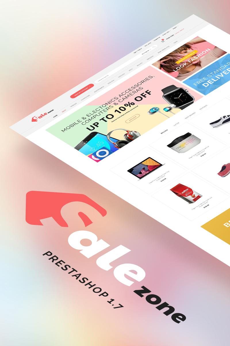 SaleZone - Great Store means Great Choice PrestaShop Theme